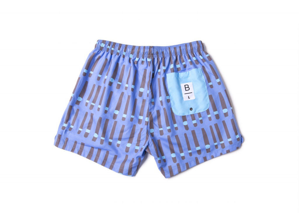 Men Swim Shorts Cigar Cuba